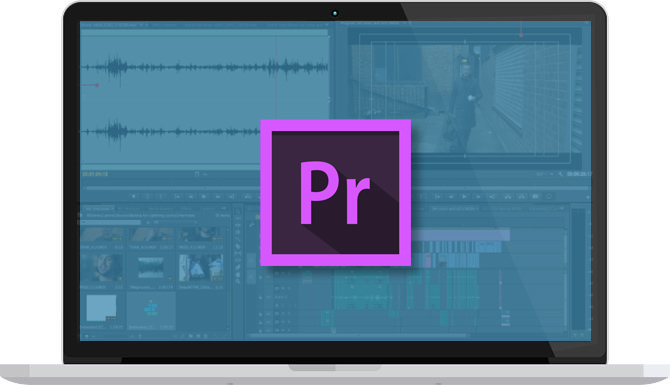 Apple iMac and Adobe Premiere Pro
